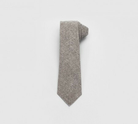 Costo Kieta Pure Waste Light Blue 100 % Recycled Denim Tie