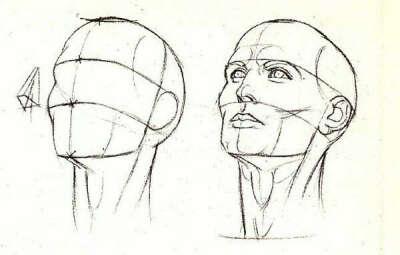 научиться рисовать лицо