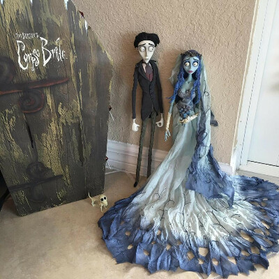 Jun Planning Doll Set Emily and Victor Corpse Bride