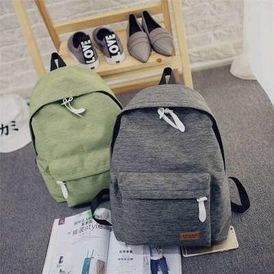 Тканевый рюкзак без рисунков