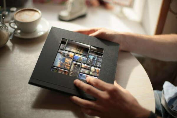 Красивый фотоальбом для вклеивания фото