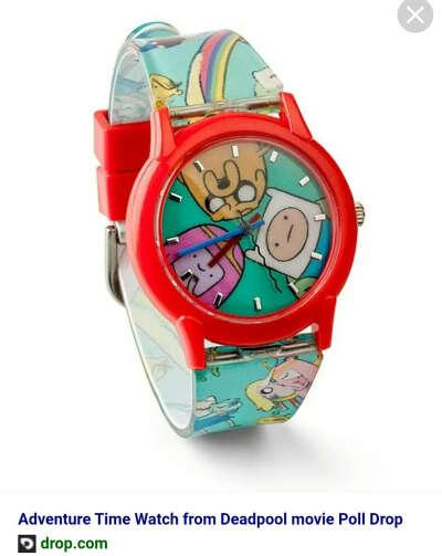 Часы Adventure time. Есть на E-bay