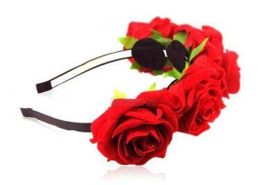 Хочу ободок из роз