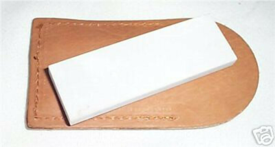 Arkansas Pocket Sharpening Stone - Medium - Backpack