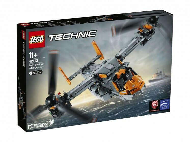 """Конструктор Lego Technic 42113 """"Bell™ Boeing™ V-22 Osprey™"""""""