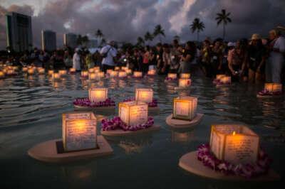 Посетить фестиваль плавающих фонариков