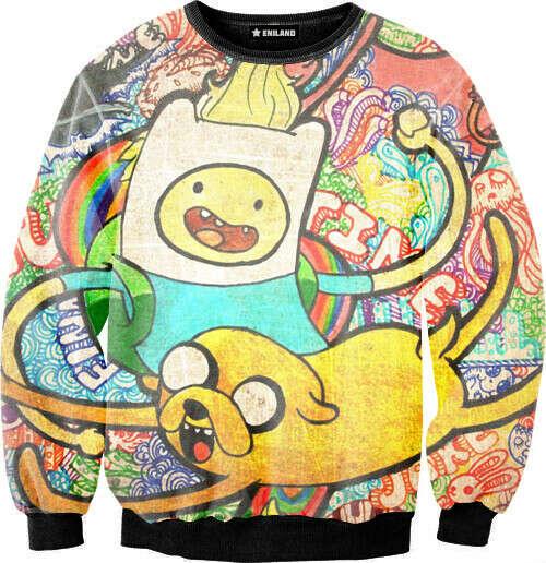 Толстовка Sexy sweaters - Adventure Time