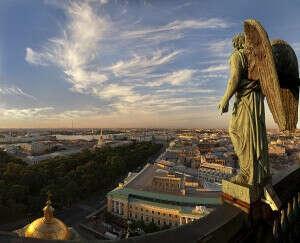 Экскурсия по крышам Санкт-Петербург