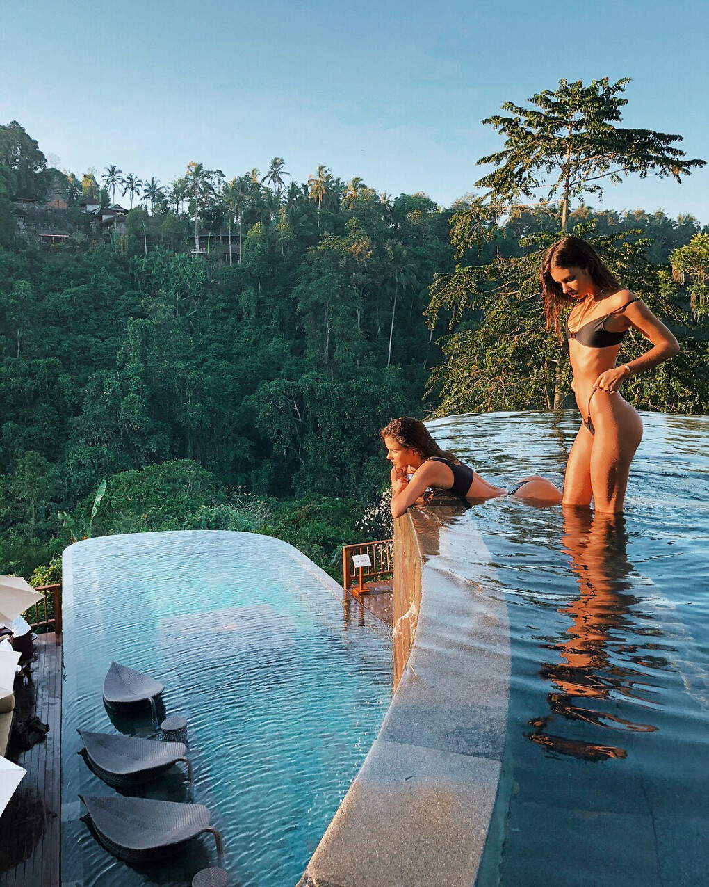 """Explore Bali With Bali Daily on Instagram: """"Tag your pool babe to join you for a relaxing dip in this amazing pool • The legendary Hanging Gardens of Babylon were built by…"""""""