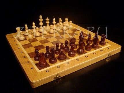 """Шахматы """"Стандарт"""" деревяные"""