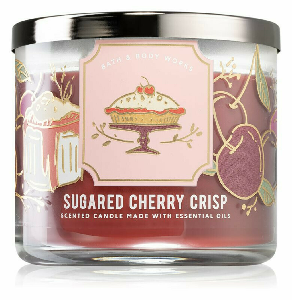Bath & Body Works Sugared Cherry Crisp