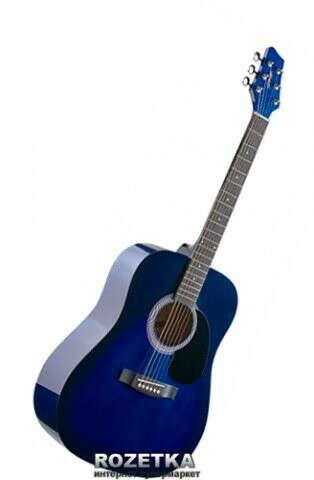 Гитара акустическая Stagg SW201 BLS Blue Burst