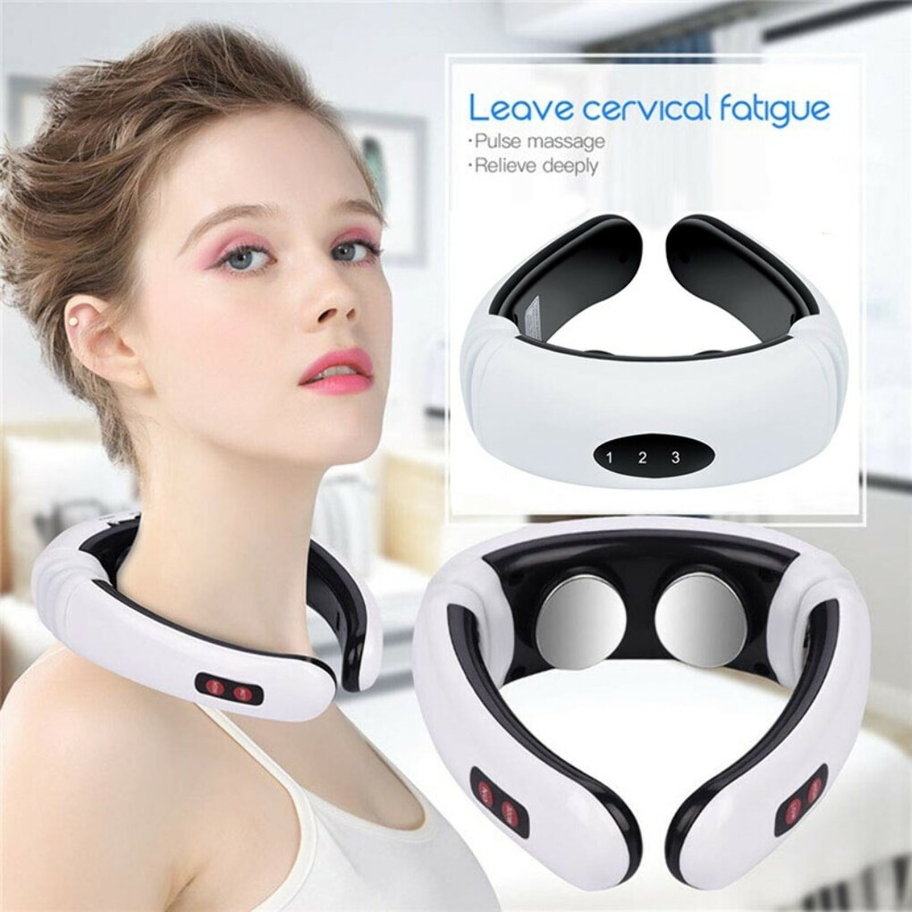 Electric Pulse Back Neck Massager — Luxenmart NOT SOLD IN STORE