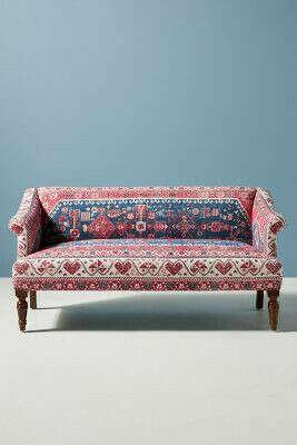 Rug-Printed Petite Anatolia Sofa