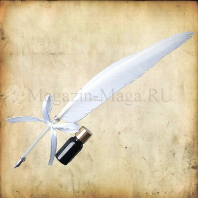 Средневековая ручка-перо