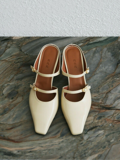 [AT21S06] 2strap mule BT