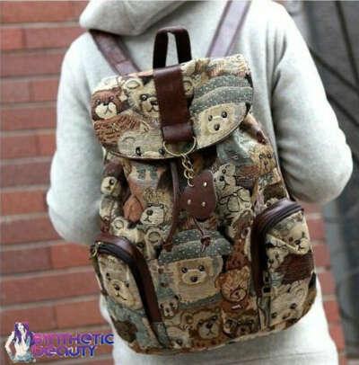 Рюкзак с мишками