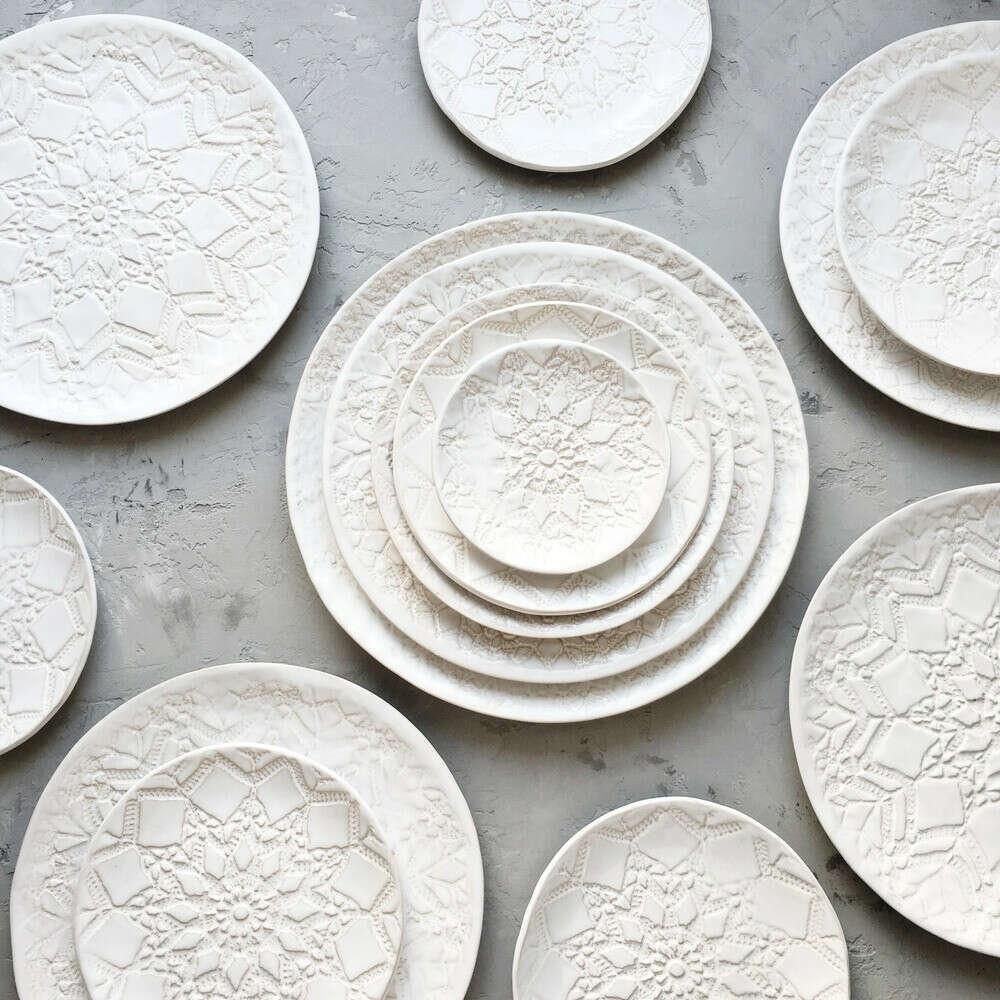 красивую столовую посуду