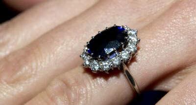 Кольцо, как у принцессы Дианы