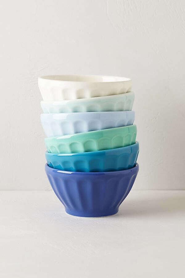 Assorted Latte Bowls Set