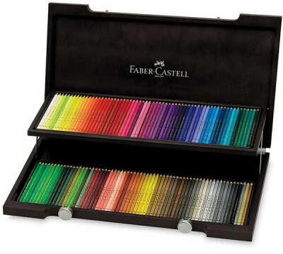 Карандаши профессиональные цветные Faber Castell POLYCHROMOS, 120 цветов