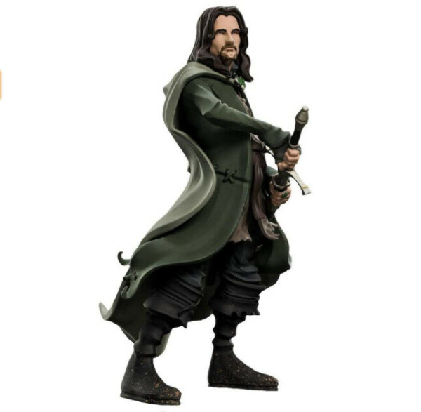Lord of The Rings Mini Epics Vinyl Aragon + Galadriel + Merry + Pippin + Gandalf + Saruman