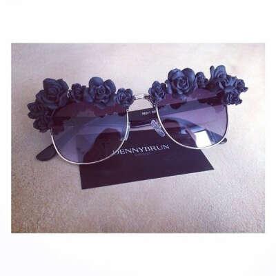 flowers очки