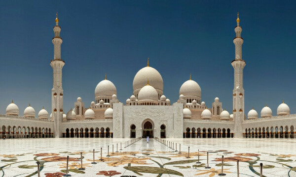 Побывать в мечети шейха Зайда, Абу-Даби, ОАЭ