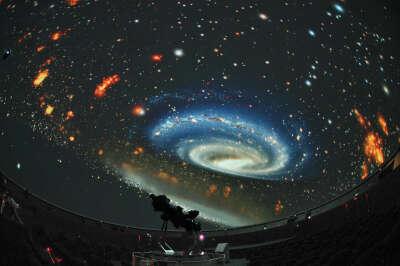 Поход в планетарий