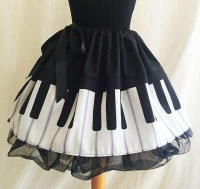 Юбочка пианино