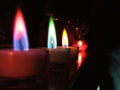 Плоские свечи