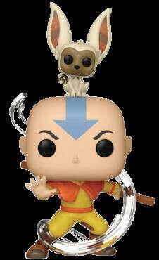 Funko POP! Animation: Avatar - Aang with Momo / Фигурка Фанко Поп! Мультсериал: Аватар легенда об Аанге - Аватар с Момо