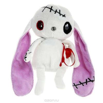 "Мягкая игрушка Magic Bear Toys ""Заяц живое сердце"", 20 см"