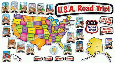 Road trip across the USA