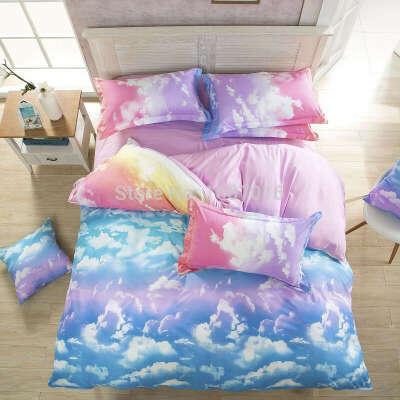 Стиль queen / полный / twin размер кровать лён комплект 4 шт постельные принадлежности комплект купить на AliExpress