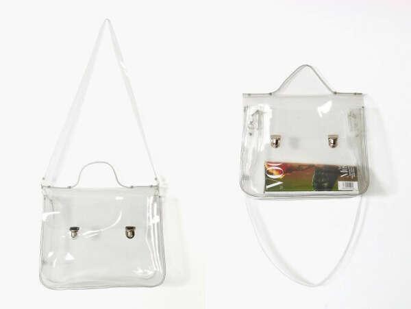 сумка из прозрачного материала