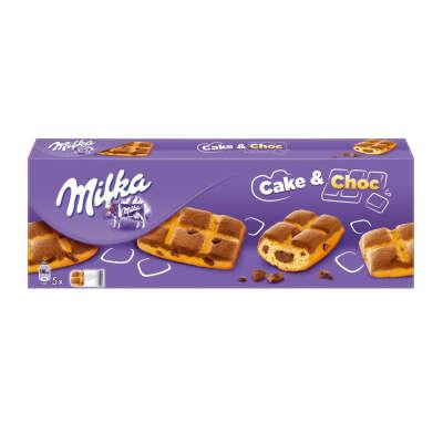 MILKA CHOC&CHOC — мягкое печенье с шоколадной начинкой.