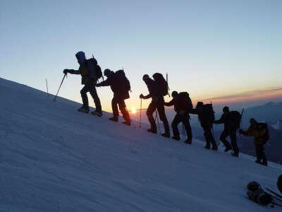 Путешествие на вершину Эльбруса