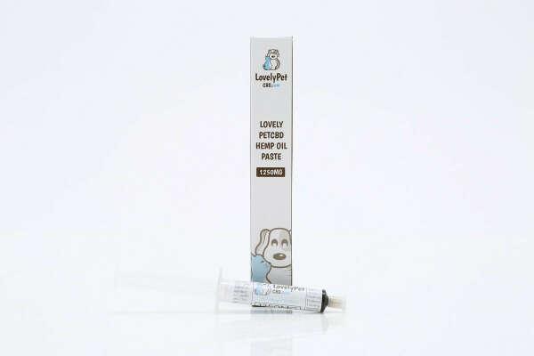 LovelyPetCBD Hemp Oil Paste   6 Gram Tubes   1200MG-4800MG