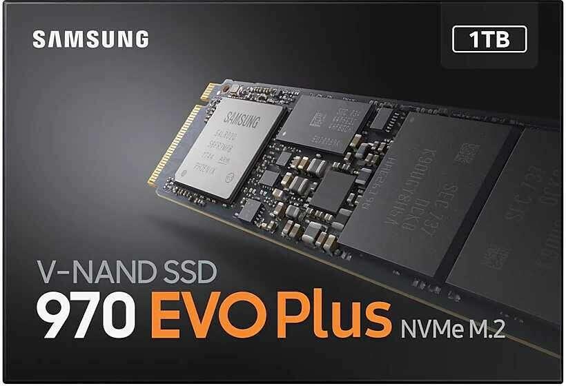 SSD SAMSUNG 970 EVO Plus 1ТБ (MZ-V7S1T0BW)