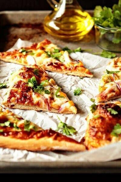 Сделать пиццу