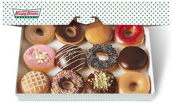 Krispy Cream пончики!!