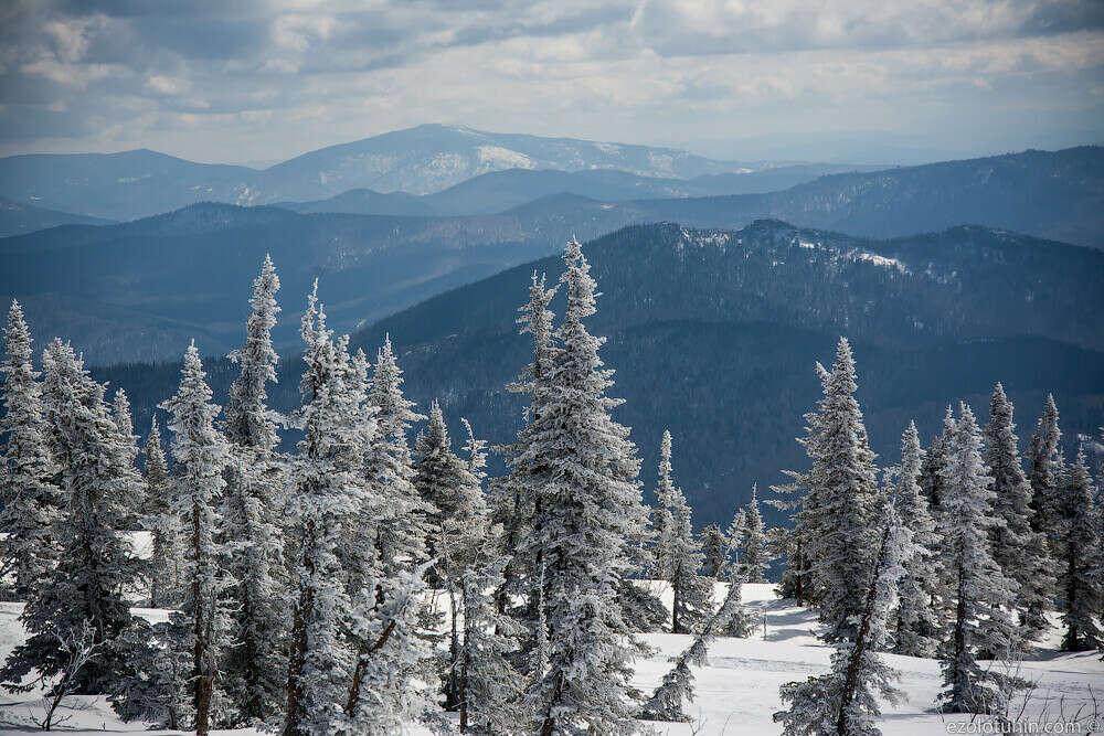 Поездка на Шерегеш зимой