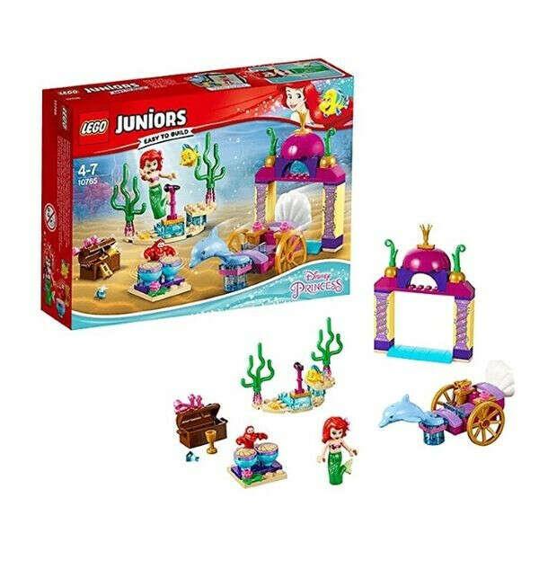 LEGO Juniors 10765 Подводный концерт Ариэль Конструктор