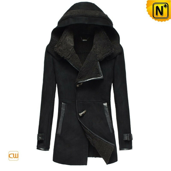 Christmas Gifts | CWMALLS® Chicago Womens Hooded Sheepskin Coat CW695118 [Custom Made]