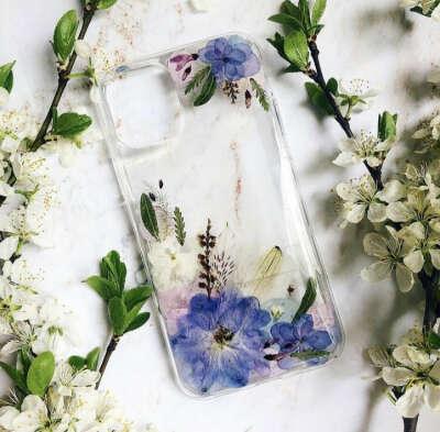 Чехол с сухоцветами