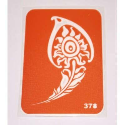 Трафарет для мехенди №378