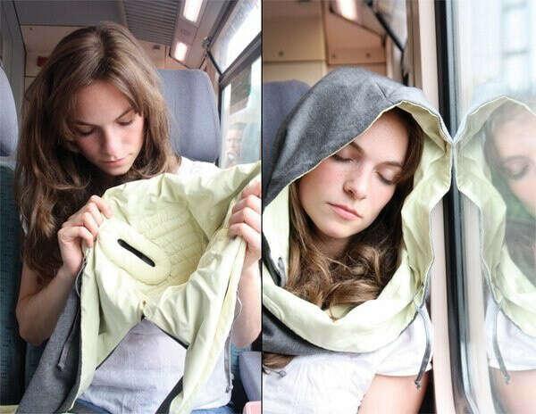 Капюшон для удобного сна во время дороги