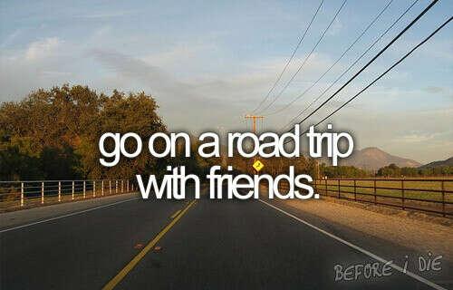 Поехать в дорожное путешествие с друзьями