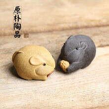 Чайная фигурка статуэтка для чайной церемонии, исинская глина